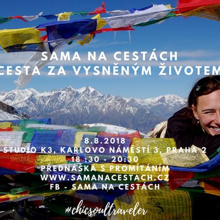 Cesta za vysněným životem - přednáška s promítáním 8.8.2018