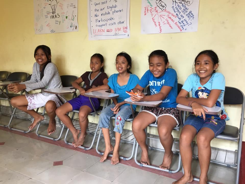 Doučování na Bali děti baví:-))))