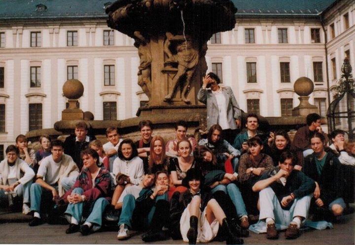 Krásné šmerálácké tváře v Praze