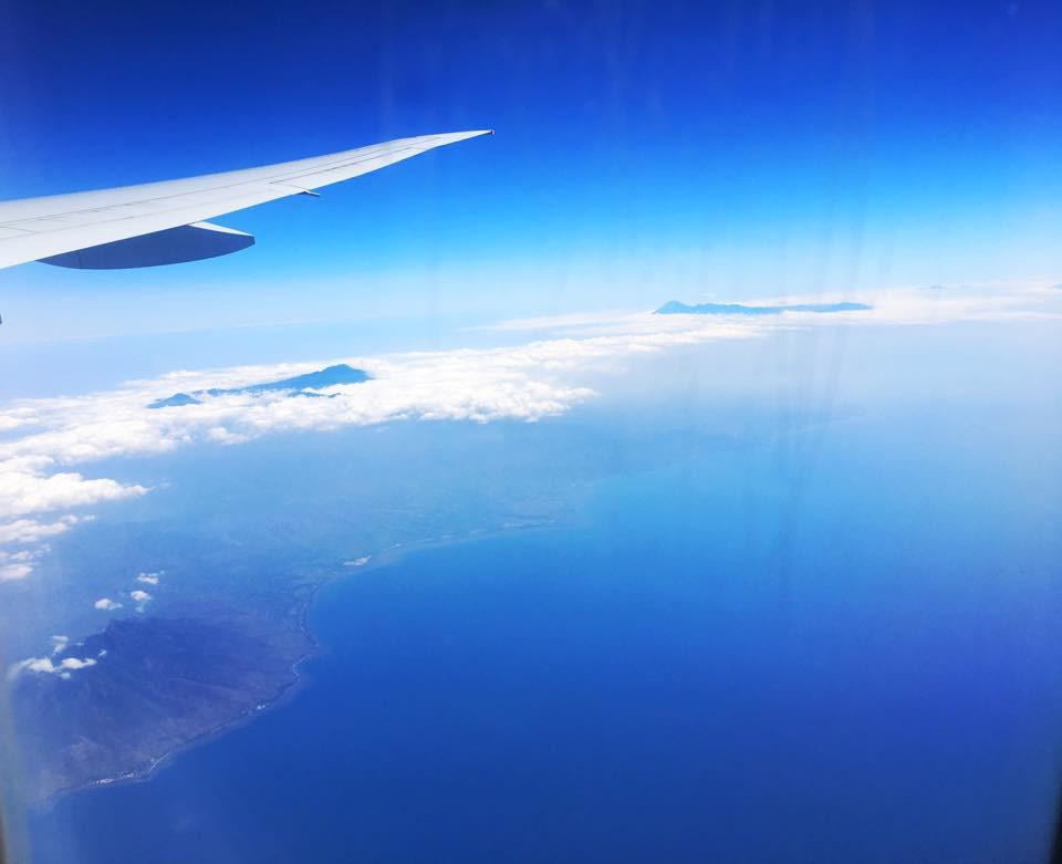 Bali vystrkuje z mraků vulkány