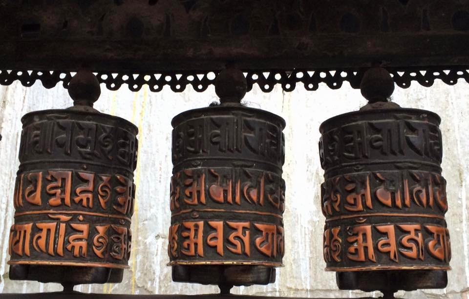 Modlitební mlýnky jsou významné symboly