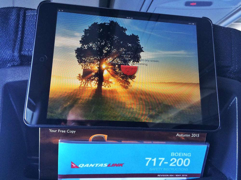 iPad na každém sedadle v letadle