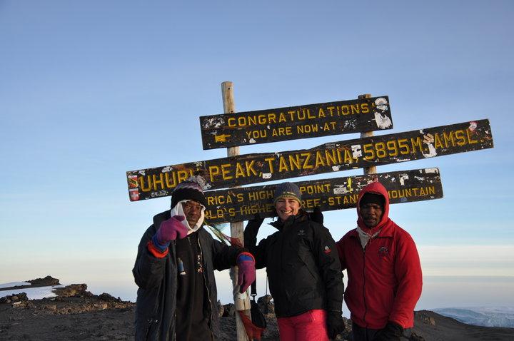 já_na_vrcholu_Kilimanjára
