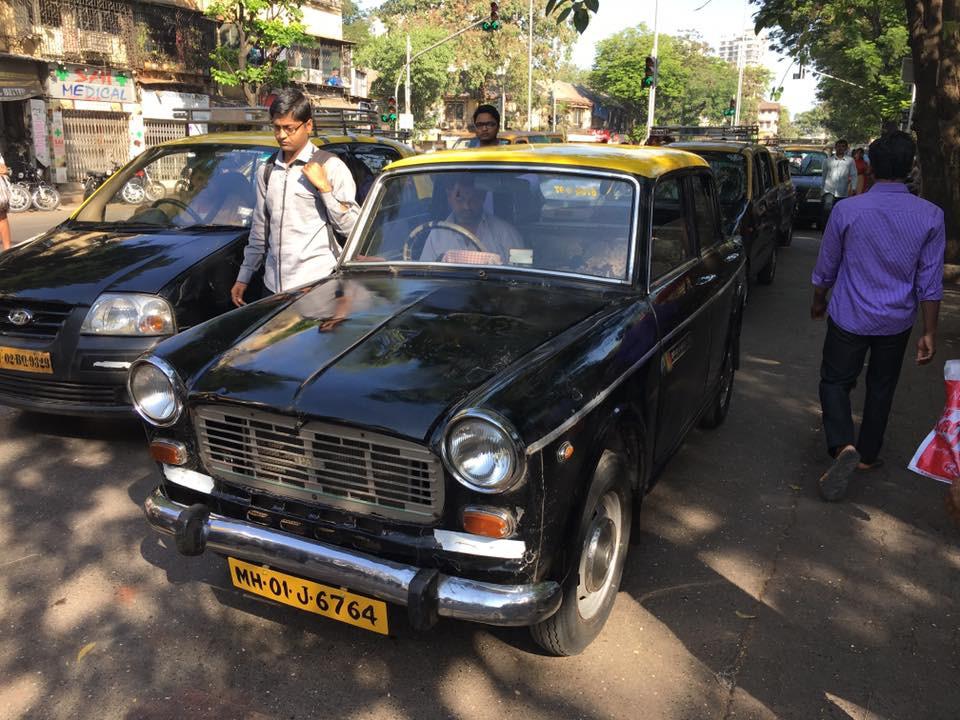 Retro taxíky v Bombaji mě zklamaly