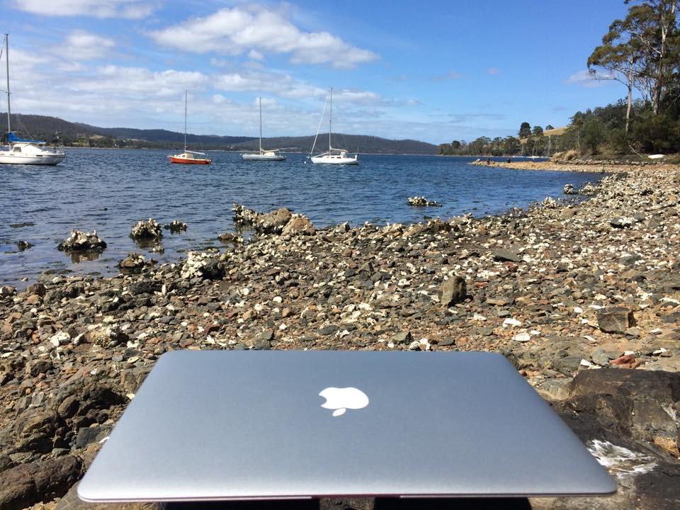 Idylka na pobřeží Tasmánského moře