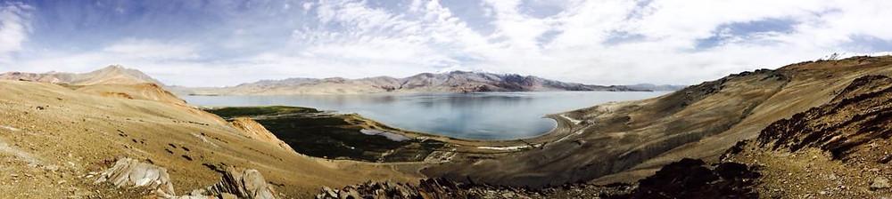 Jezero Tso Moriri a úchvatné výhledy do okolí