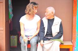 mantry s tibetským dědečkem