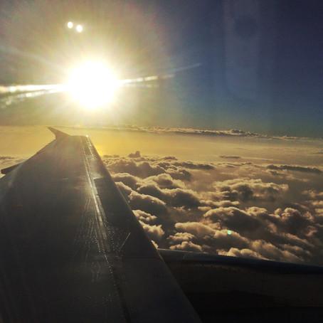 Miluji rána, když letím do neznáma