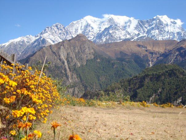 Himalájské vrcholy berou dech