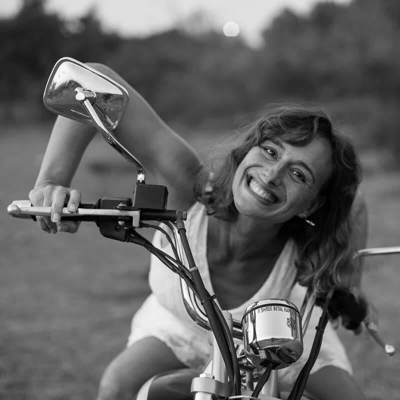 Já motorkářka
