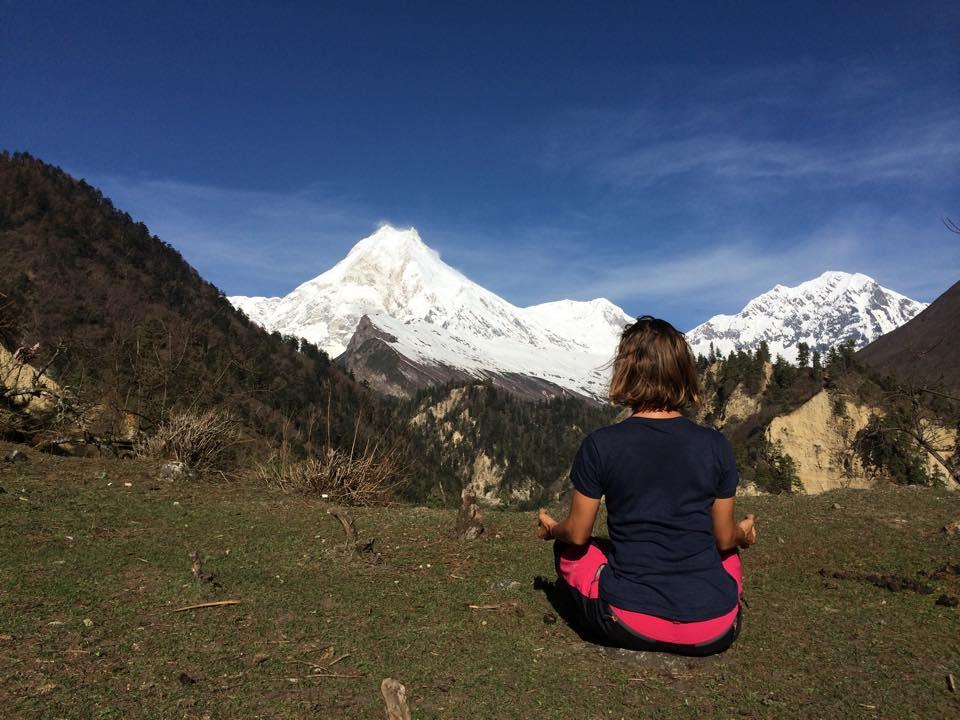 meditace pod Manaslu