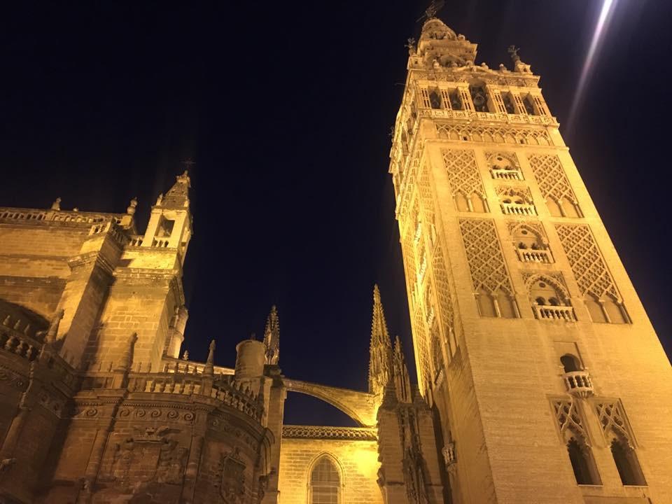 Zářivá katedrála- Sevilla