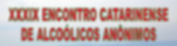 XXXIX Encontro Catarinense 2019