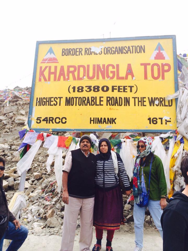 Nejvýše položená motorizovaná silnice světa - 5 600 m