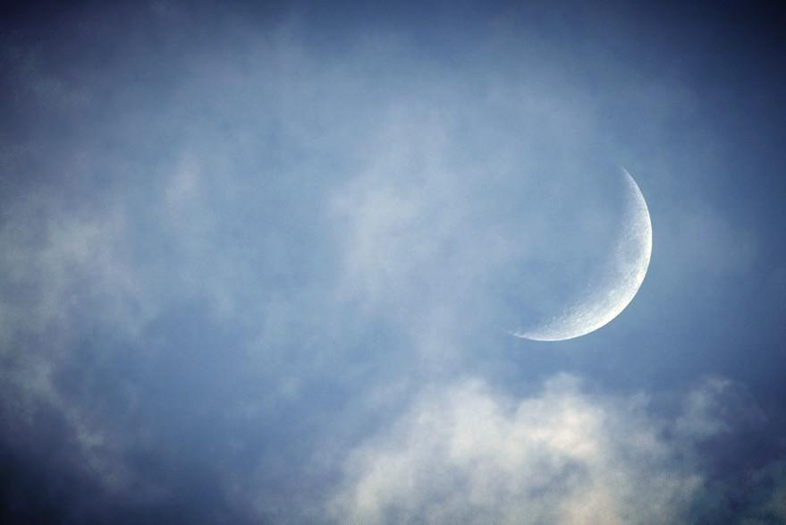 Měsíc na obloze