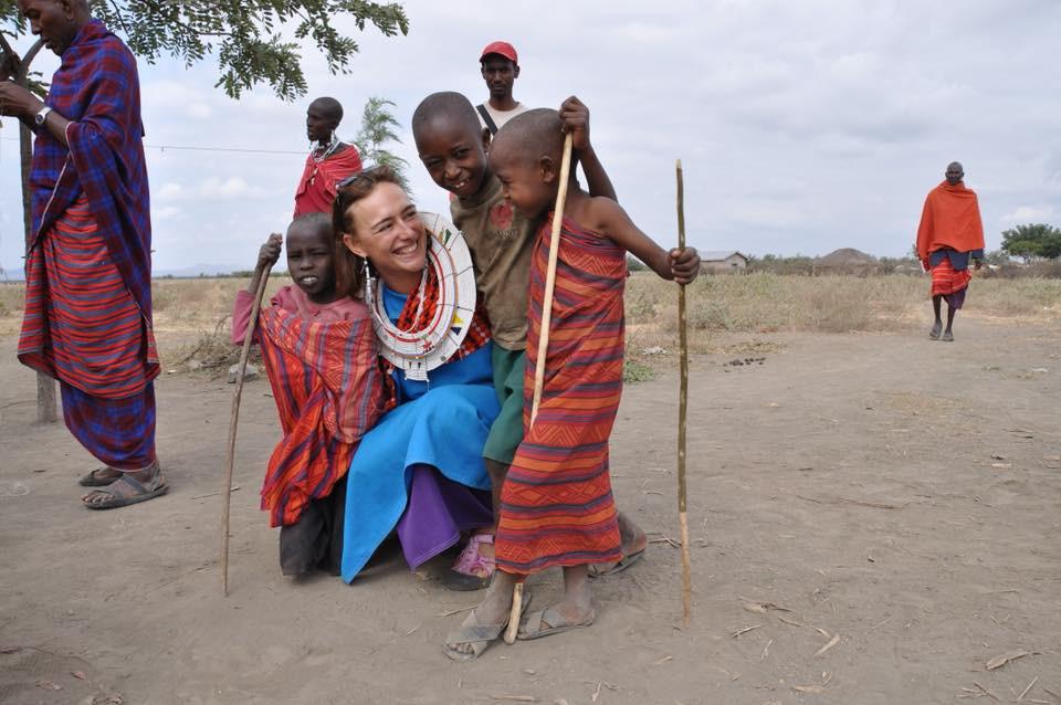 Karma jóga - Afrika - vesnice Masajů