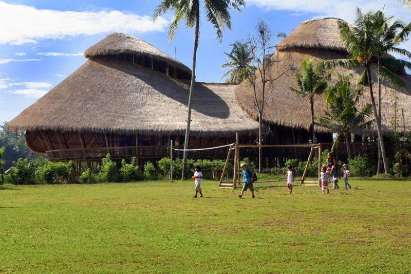Green School na Bali je exemplární příklad eko-výchovy