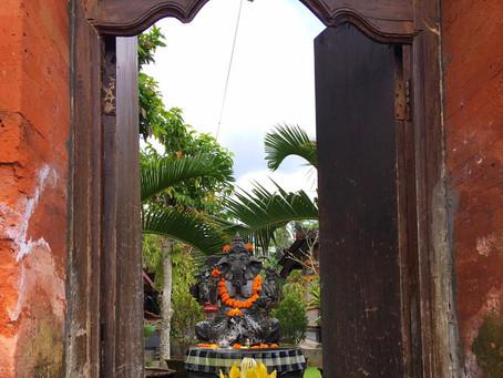 První den na Bali ( aneb tři roky rozdíly)