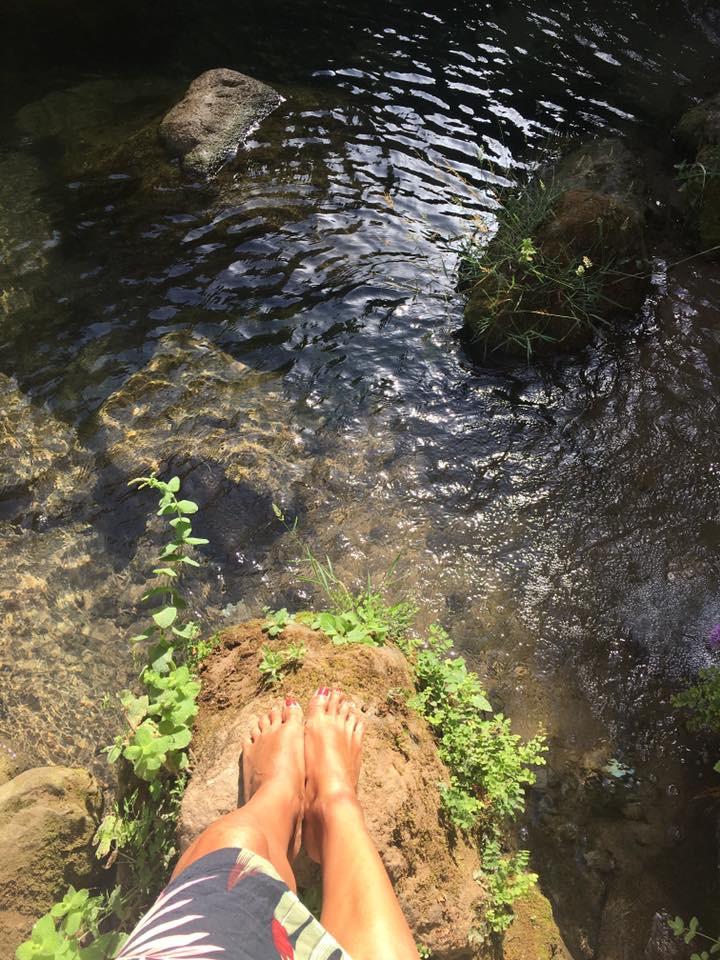 V naturálních lázních Rondy