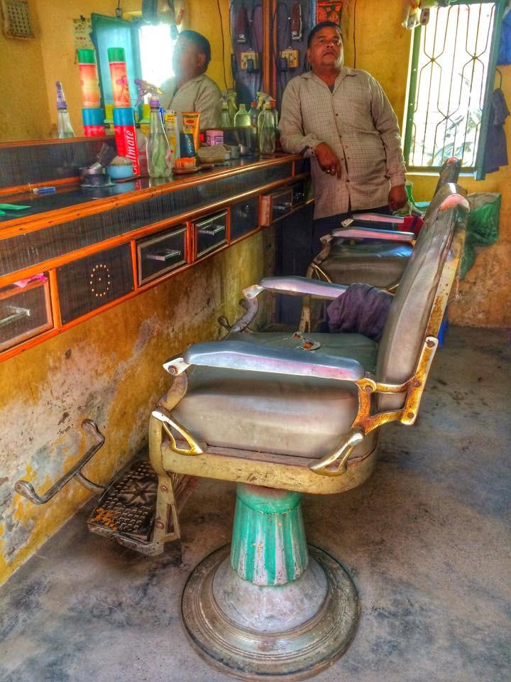 Retro kadeřnictví v Indii