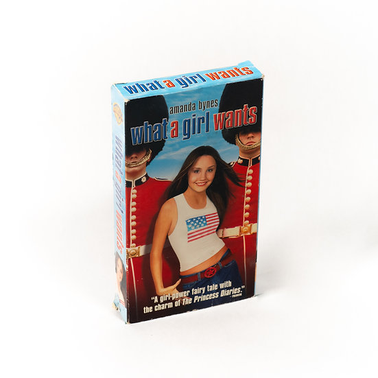 What A Girl Wants   VHS
