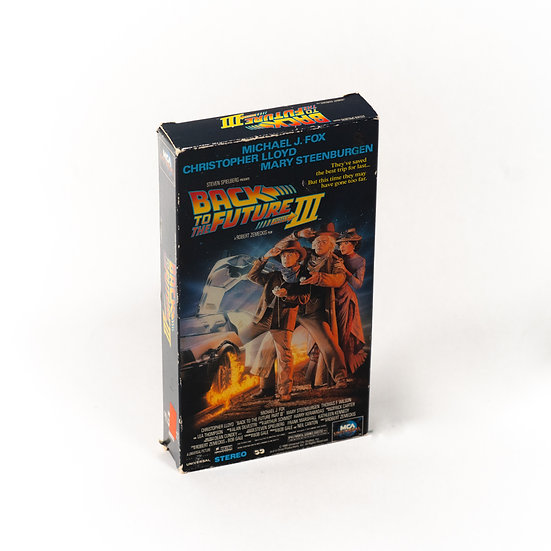 Back To The Future Pt. III | VHS