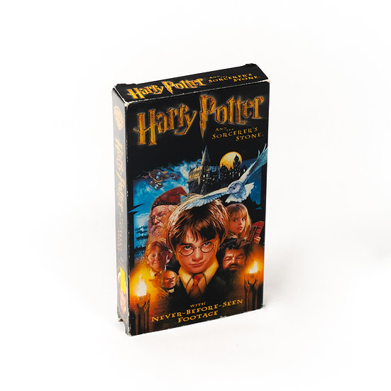 Harry Potter & The Sorcerers Stone | VHS