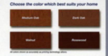 Wood Colors for Garage Doors