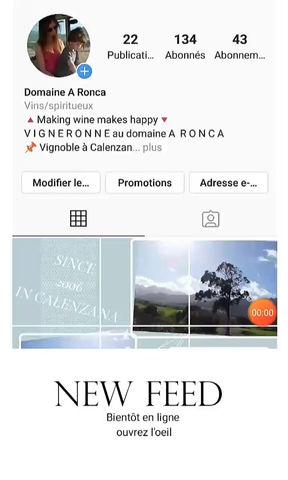 Stratégie Instagram : Domaine A Ronca