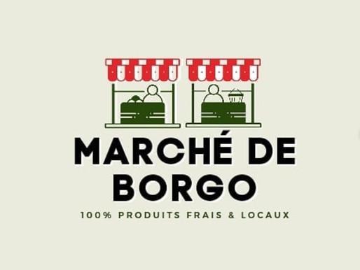 Réalisation du logo du Marché de Borgo