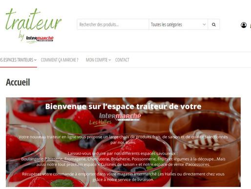 Création site internet pour Intermarché
