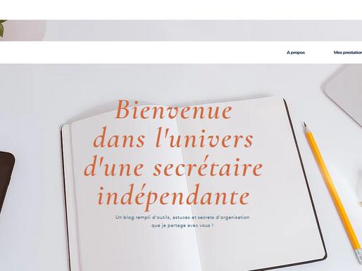 Blog professionnel pour une secrétaire indépendante
