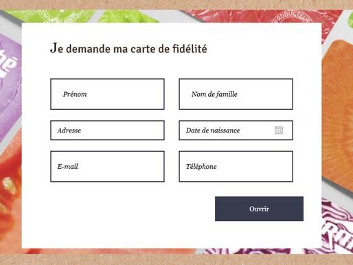 Site internet pour Intermarché