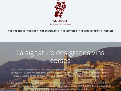 Création du site internet de la SODISCO