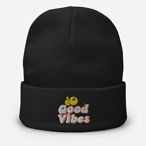 Good Vibes Beanie Non-Ribbed