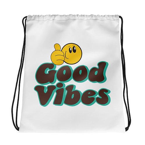 Good Vibes Drawstring bag
