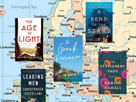 Armchair Travel: Five 2019 Novels Set in Other Places and Times