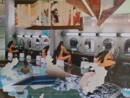 The Public Baths in Japan