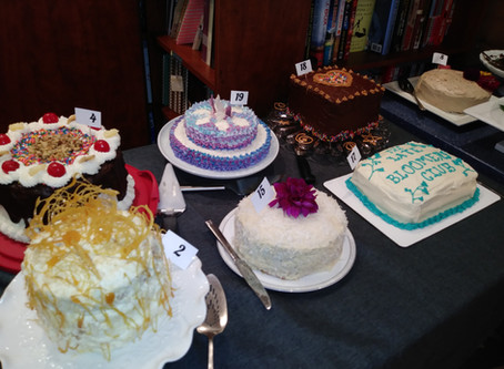 Two Book Launches and a Cake-Baking Contest: Tips for Authors