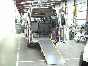 vehicles being made ready for  Sunderland Dialyse Patients 2008