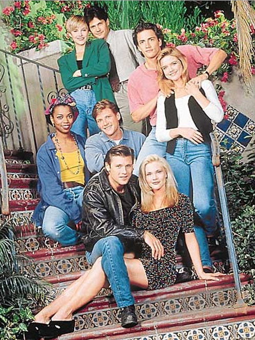 Melrose Place Original Cast Photo