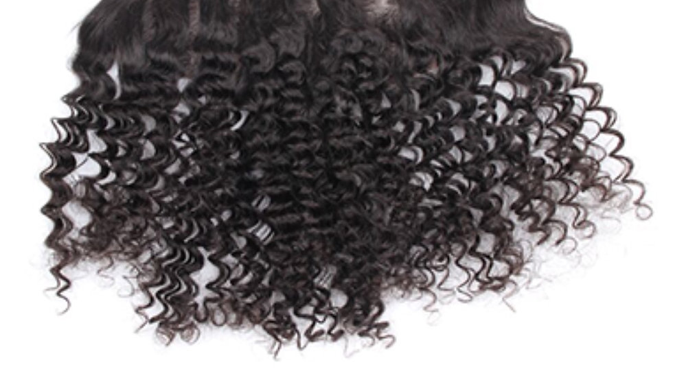 HD Burmese Curly Frontal