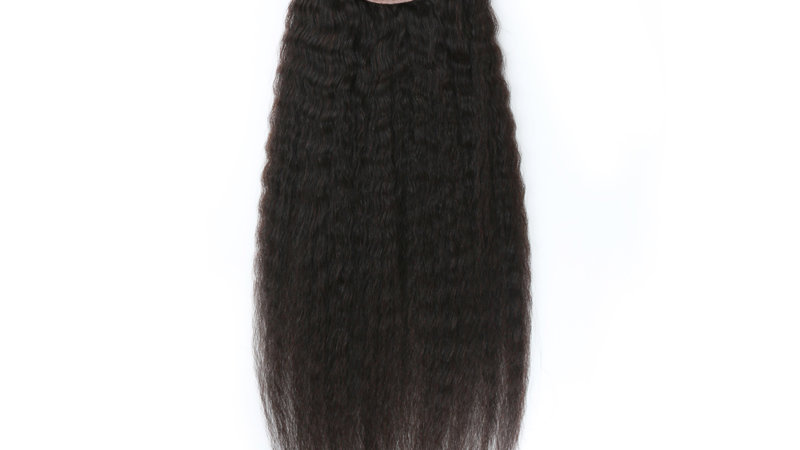 HD 5x5 Kinky Straight Closure