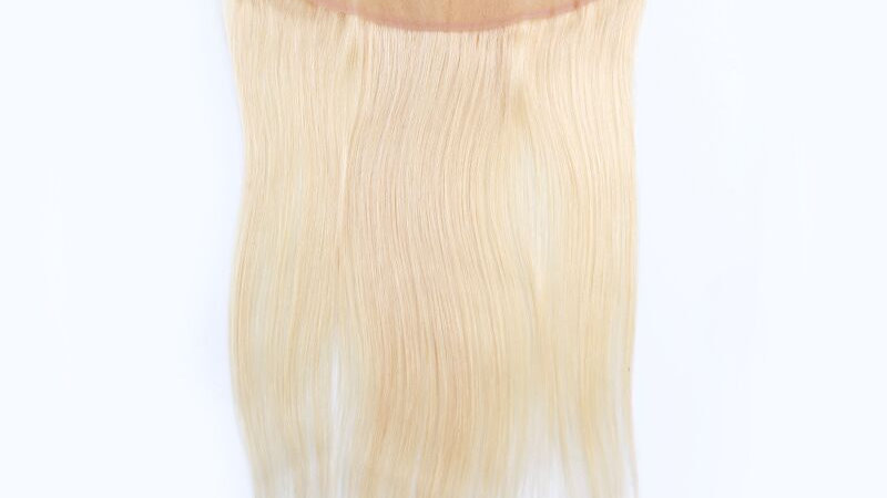 HD 613 Blonde Straight Frontal