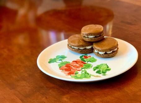 Caramel Macchiato Macarons