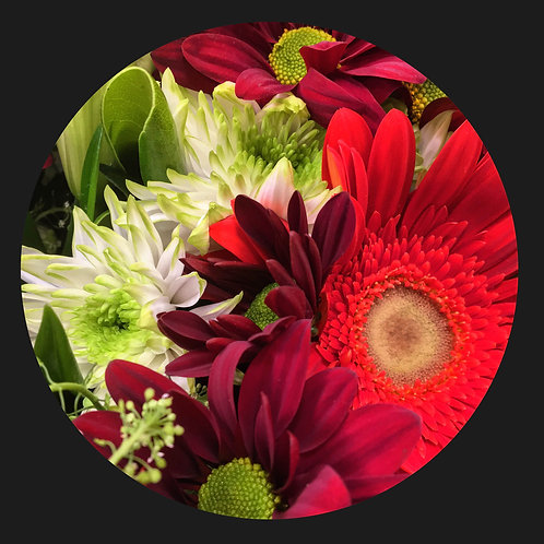RED FLOWER MIX