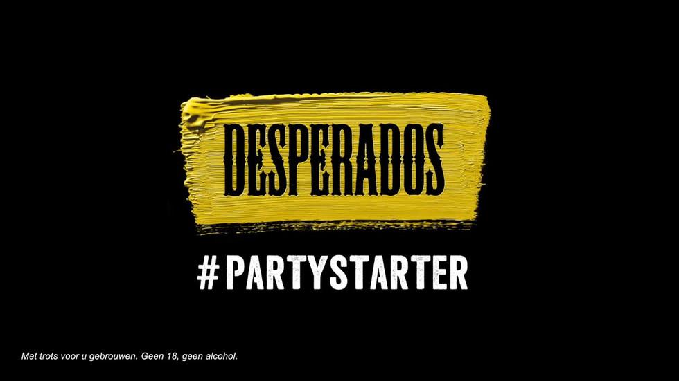 Desperados #PARTYSTARTERS