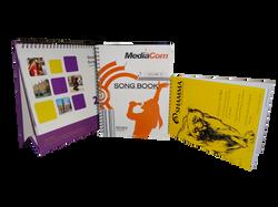 Spiral bound Notebook and Calendar