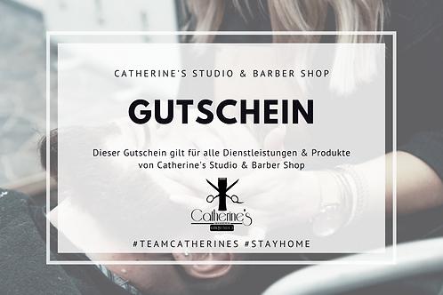 Gutschein bei Catherine's Studio & Barber Shop
