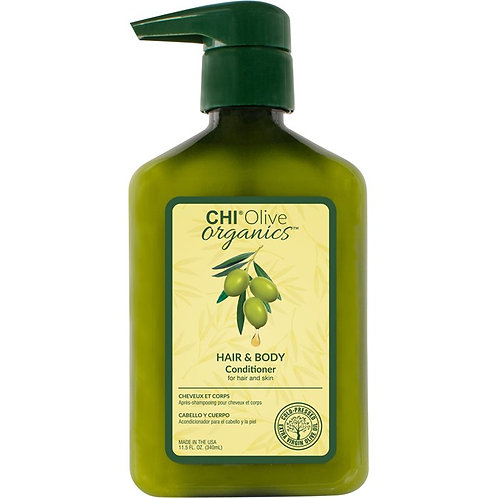Chi Olive organics hair and body conditioner 340ml